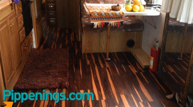 Luxury Vinyl Flooring Rv