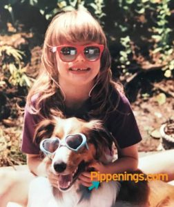 Pippi with her first dog