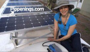 RV Solar Living Installation