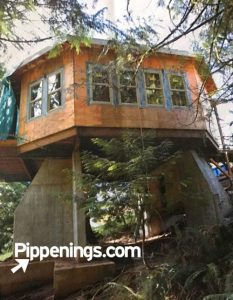 oregon treehouse building